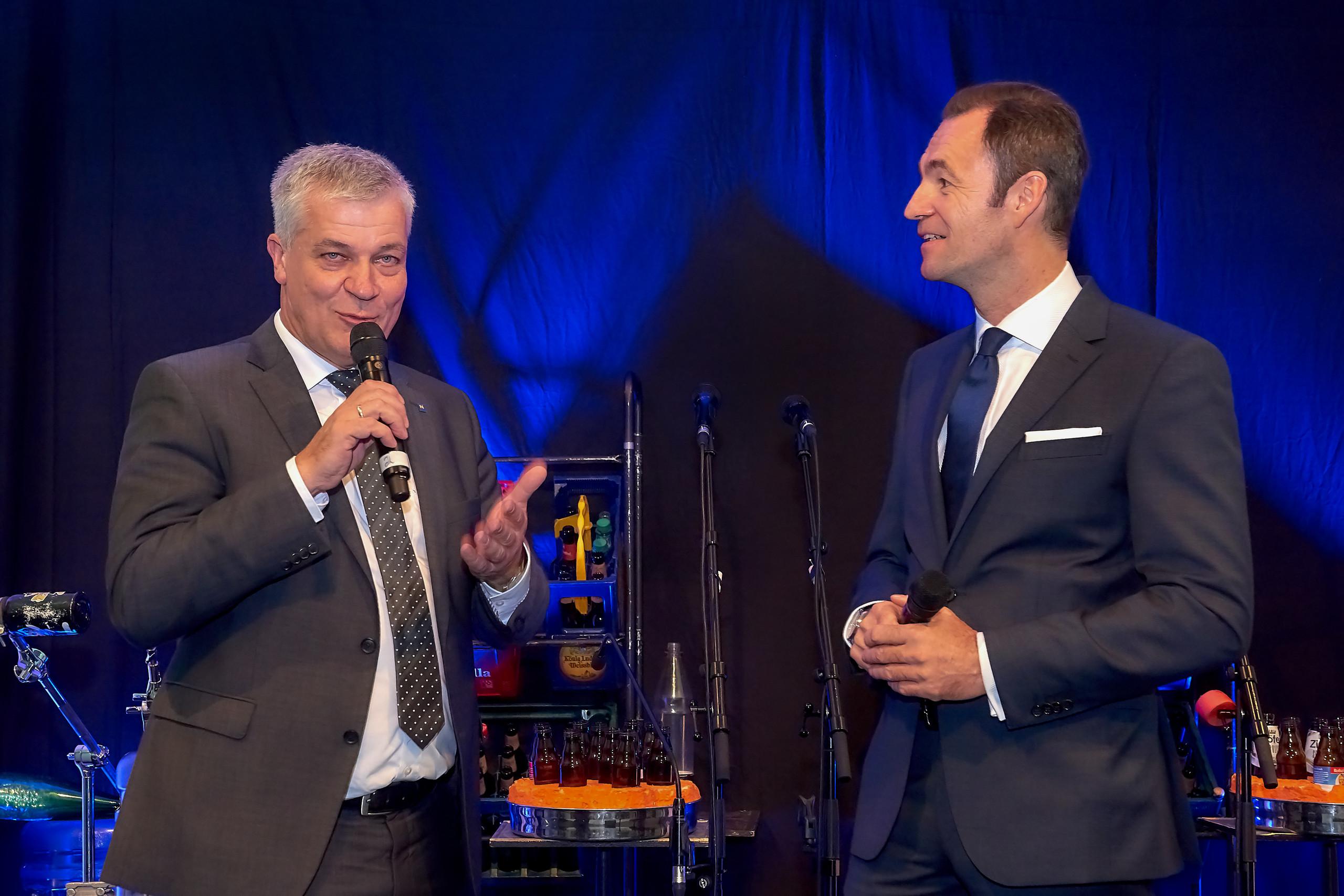Feier anlässlich 40 Jahre Glasrecycling in Österreich