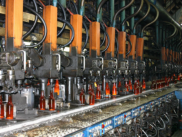 Glasproduktion