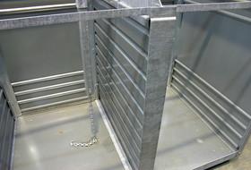 Das Innere eines Doppelkammerbehälters