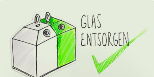 Perfektes Glasrecycling