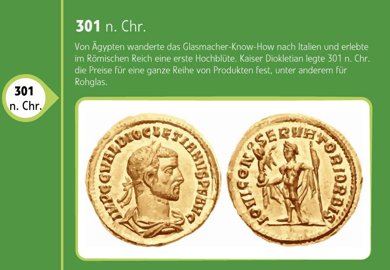 Goldmünzen mit römischen Männern abgebildet