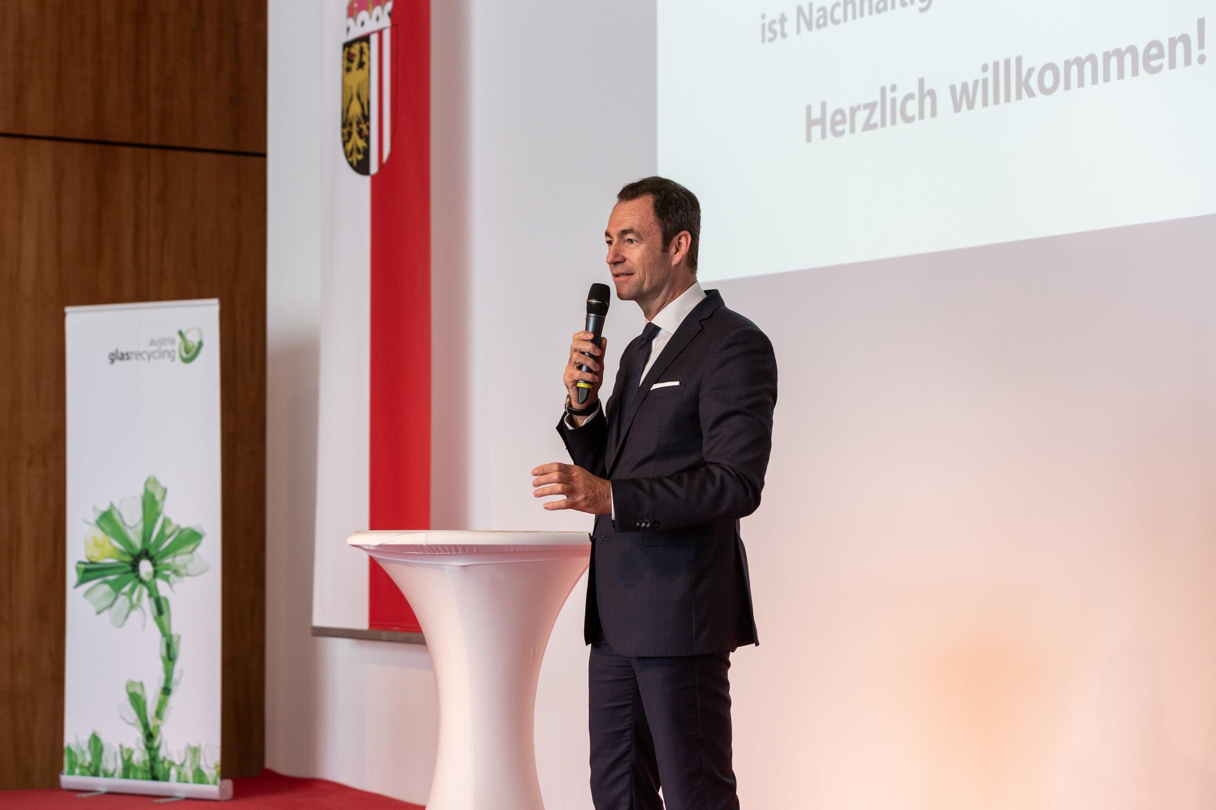 Dr. Harald Hauke, Geschäftsführer Austria Glas Recycling GmbH