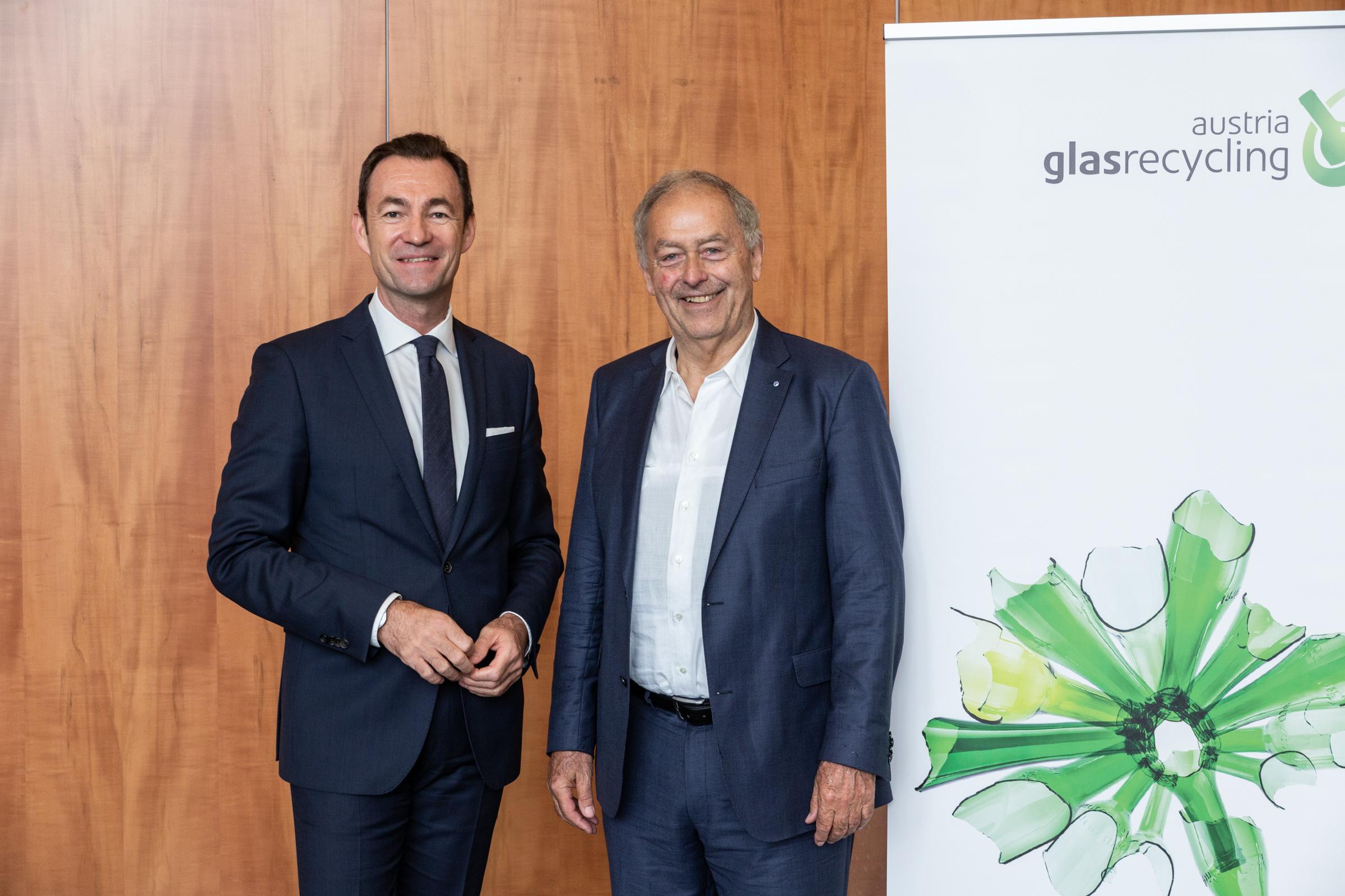Dr. Harald Hauke und Prof. Franz-Josef Radermacher