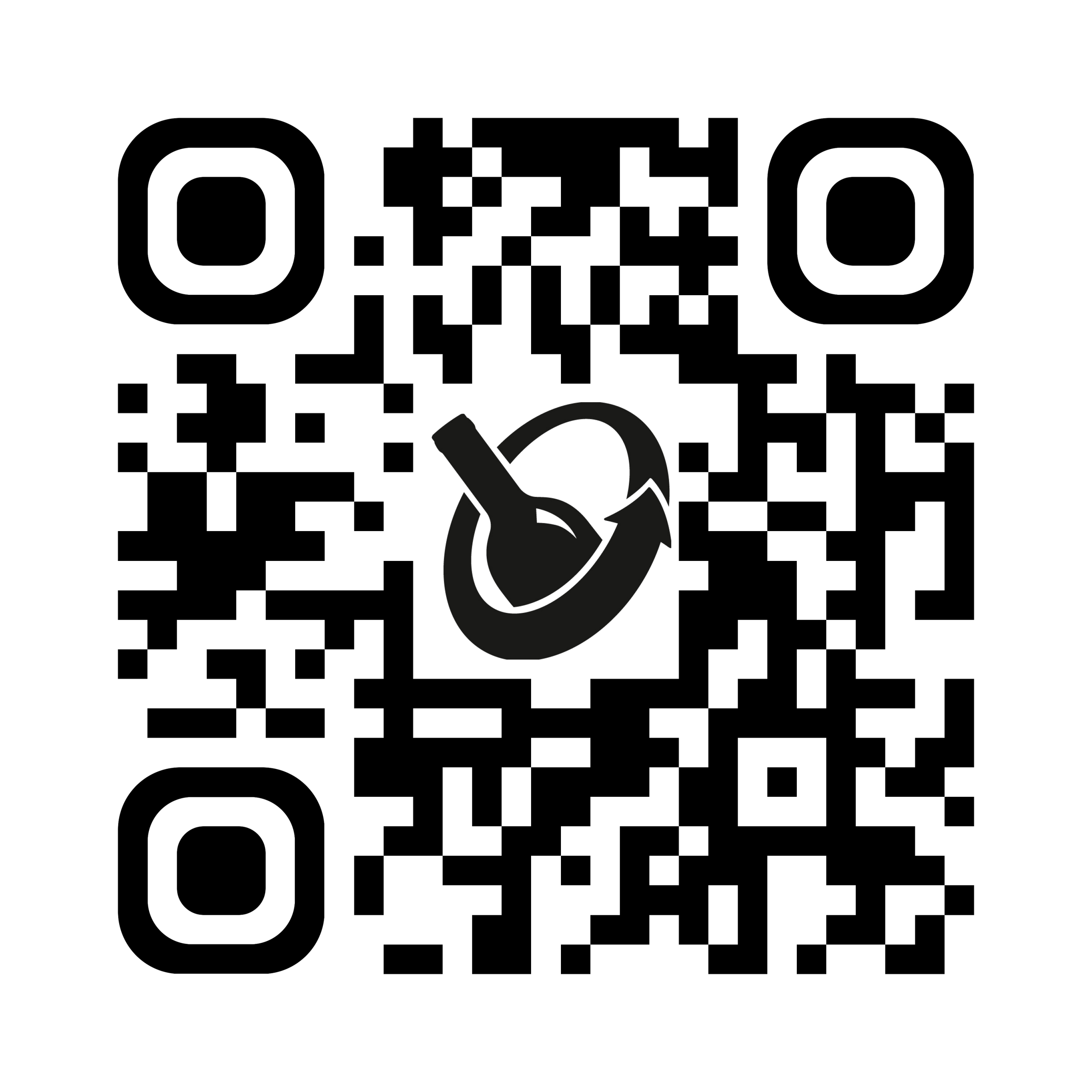 QR-Code glasartig App führt zu Google Play oder App store