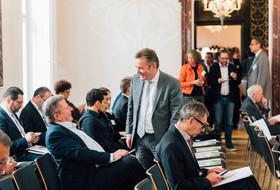 Reinhard Siebenhandl und Werner Knausz